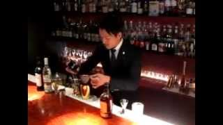 [動画]Cocktail Takumi  (SHINGO at The Sailing Bar)