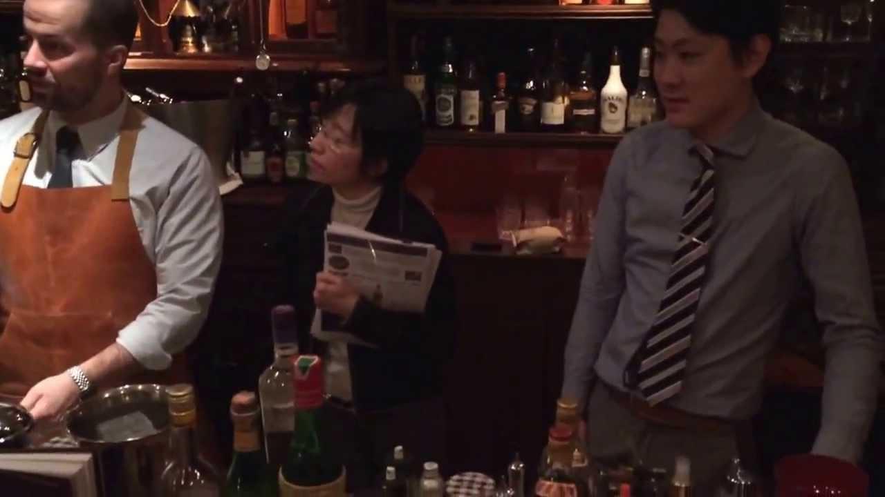 [動画]Cocktail Takumi(Jim's master class) pop up PDT inNARA