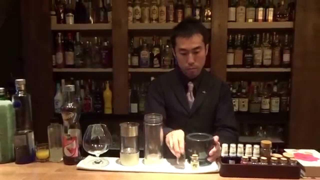 [動画]ミクソロジー・カクテル「Yokohama Dernier」