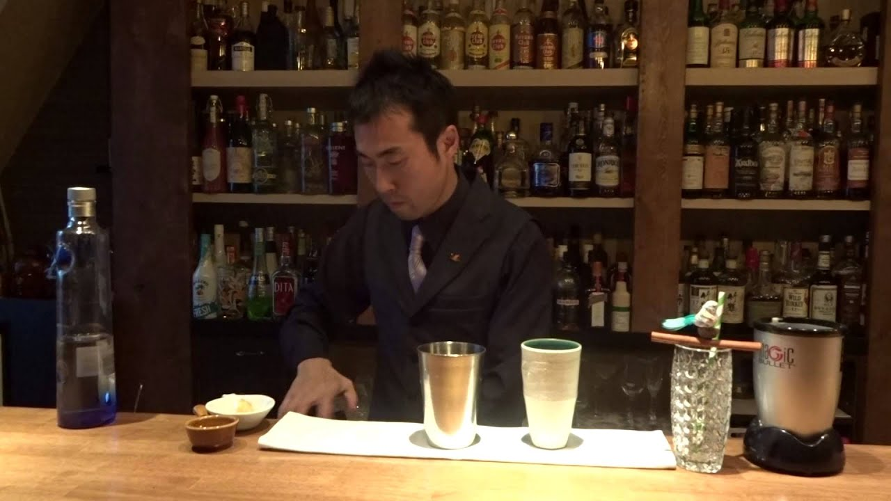 [動画]ミクソロジー・カクテル「Ptica Čaj (プティツァ・チャイ)」