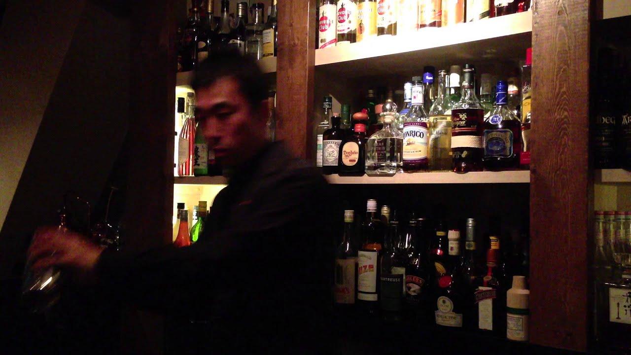 [動画]Throwing by Tomoyuki Hojo  カクテルバー・ネマニャ 北條智之のスローイング