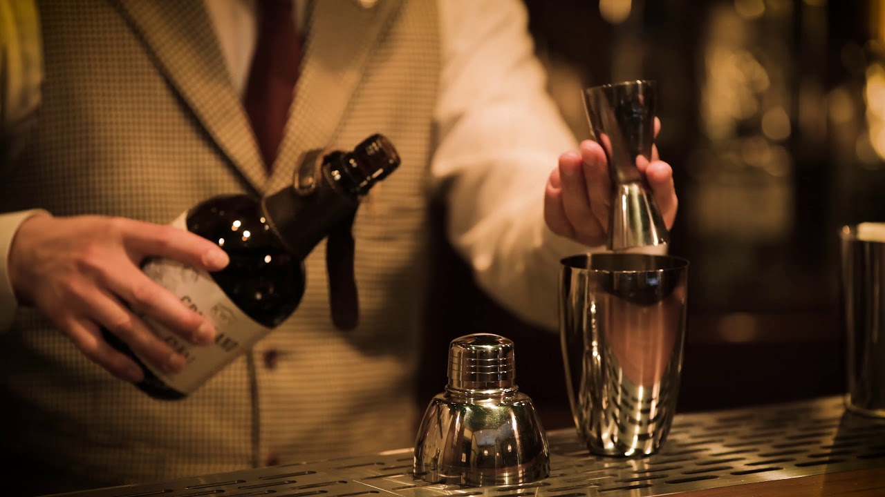 [動画]Osamu Takahashi (BAR JUNIPER Trinity)KWV Cruxland Gin Cassata Martini