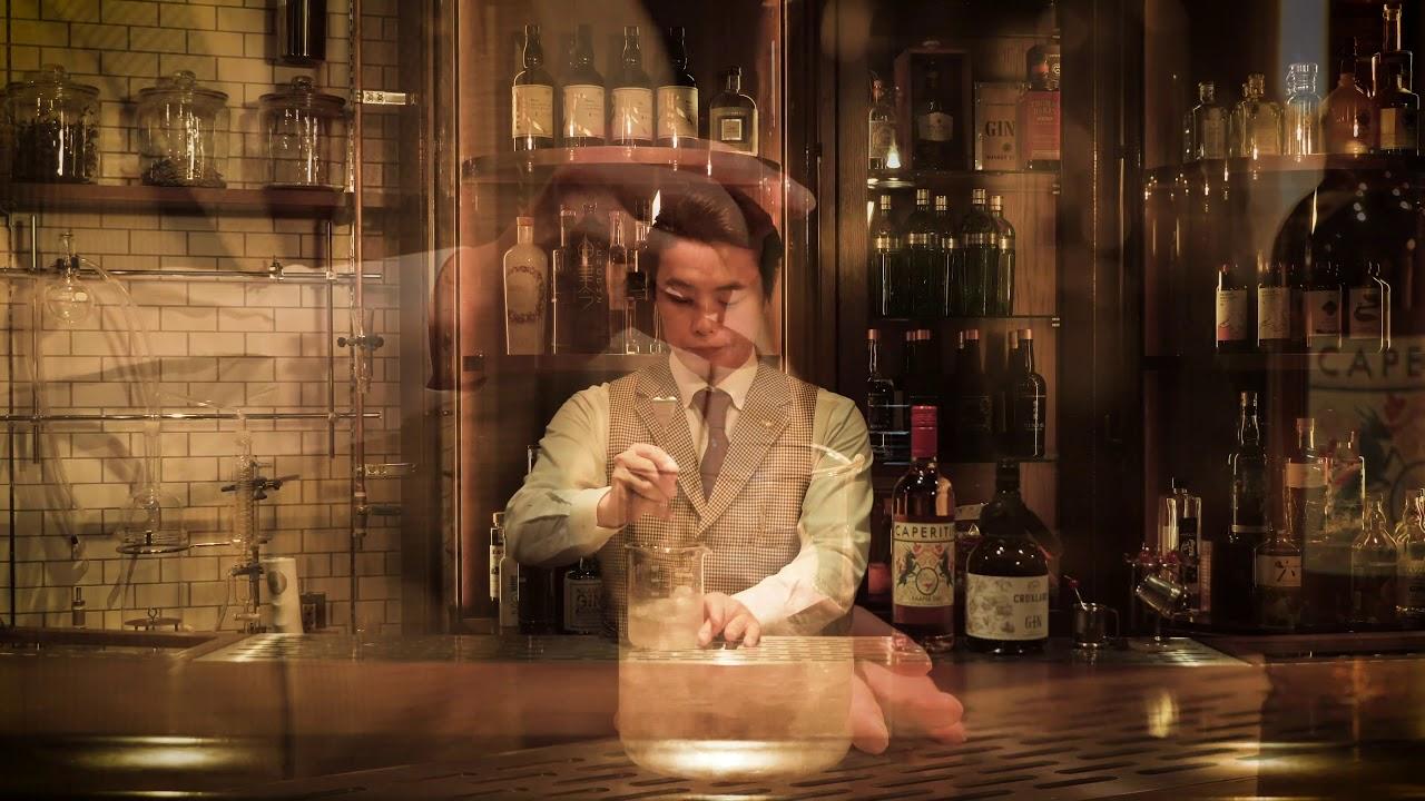 [動画]Osamu Takahashi (BAR JUNIPER Trinity)KWV Cruxland Gin Martini