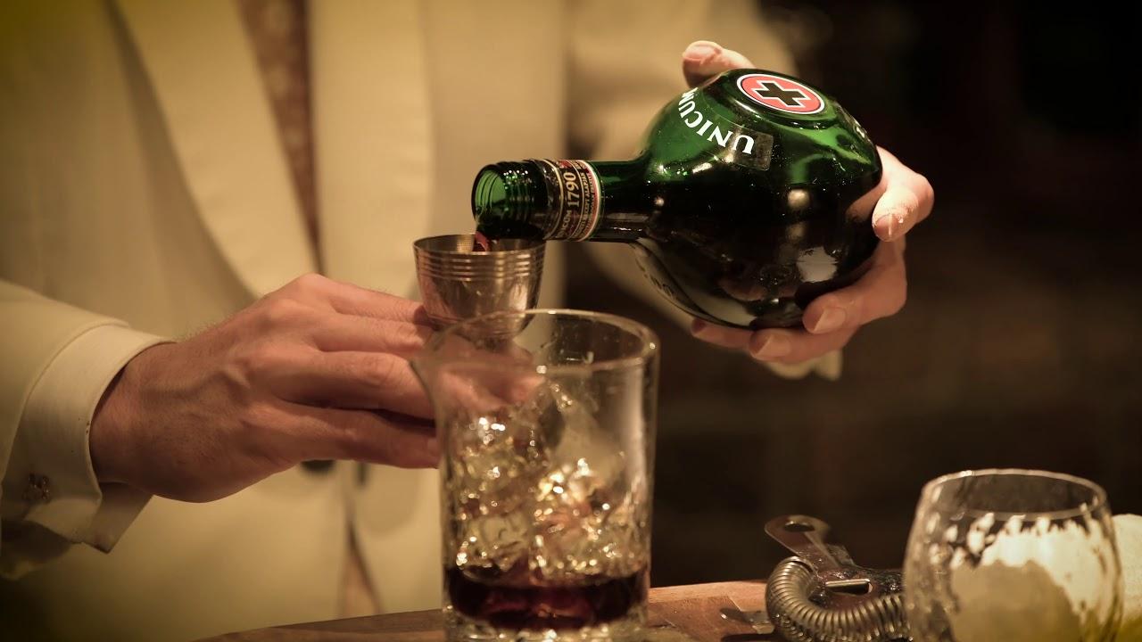 [動画]Hiroyasu Kayama /Bar BenFiddich(cocktail:UNICUM and Water )
