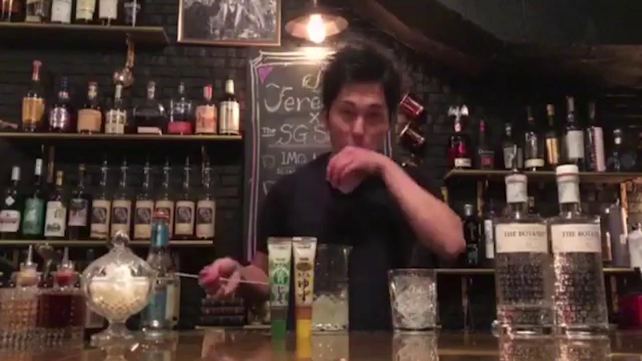 [動画]おうちカクテル with THE BOTANIST #5 「Home made Botanical Tonic」 by Jeremiah Tokyo 市川寛さん