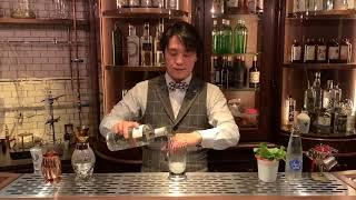 [動画]おうちカクテル with THE BOTANIST #2「The Botanist Mojito」 By Bar JUNIPER Trinity 髙橋 理さん