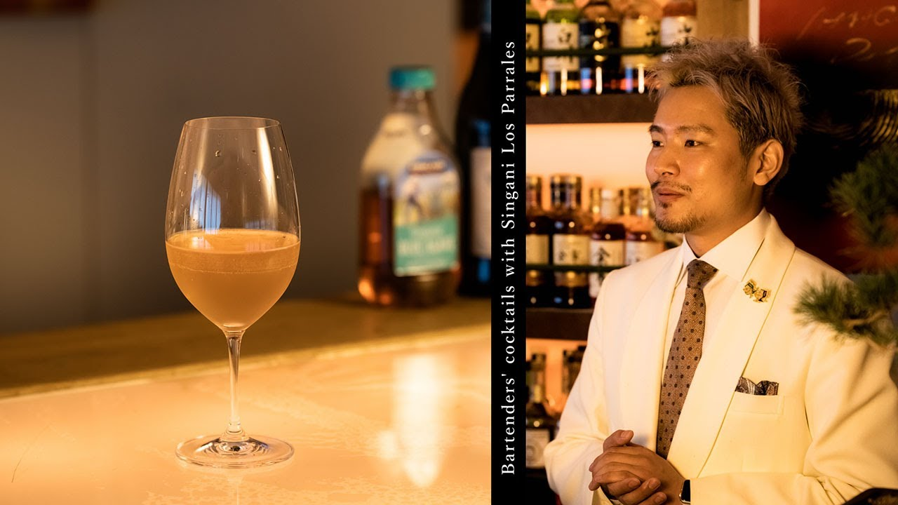 [動画]Kazunori Shizuya(Shinjuku Whisky Salon)Grapes pop